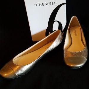 Nine West Lucille PEW/PEW LE flats